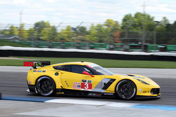 #3 Corvette Racing  Chevrolet Corvette C6 ZR1: Jan Magnussen, Antonio Garcia