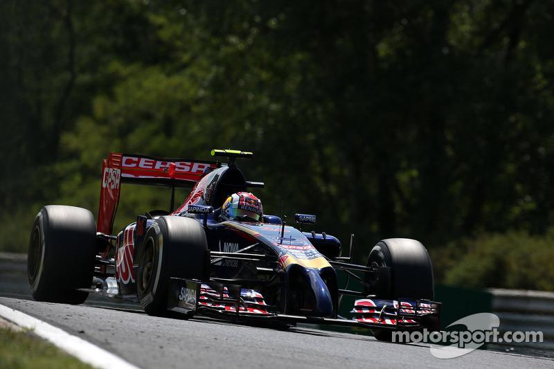Daniil Kvyat , Scuderia Toro Rosso