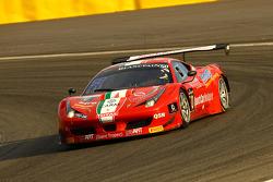 #50 AF Corse Ferrari 458 İtalya: Andrew Danyliw, Simon Knap, Andrea Sonvico