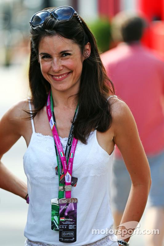 Marion Jolles Grosjean, Lotus F1 Team