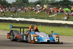 #08 RSR Racing Oreca FLM09 雪佛兰: 克里斯·卡明, 杰克·霍克斯沃思