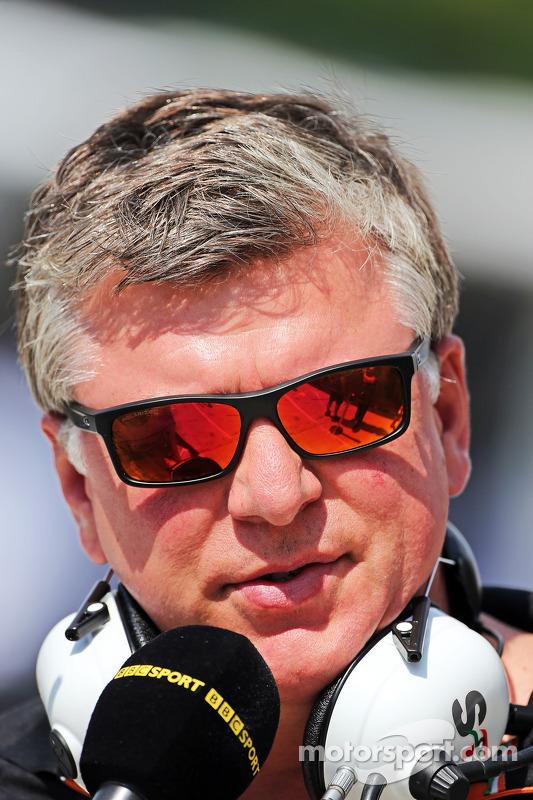 Otmar Szafnauer, chefe de operações da Sahara Force India F1