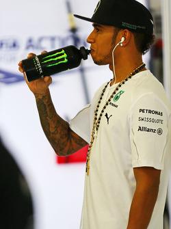 Fahrerparade: Lewis Hamilton, Mercedes AMG F1