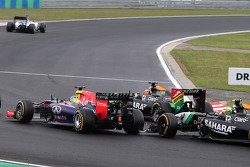 Sebastian Vettel, Red Bull Racing e Sergio Perez, Sahara Force India