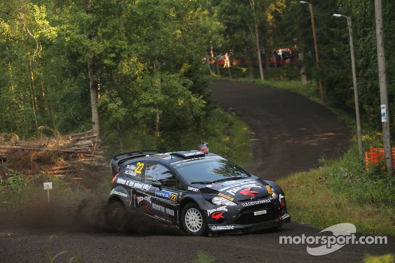 Jarkko Nikara e Jarkko Kalliolepo, M-Sport Ford Fiesta WRC