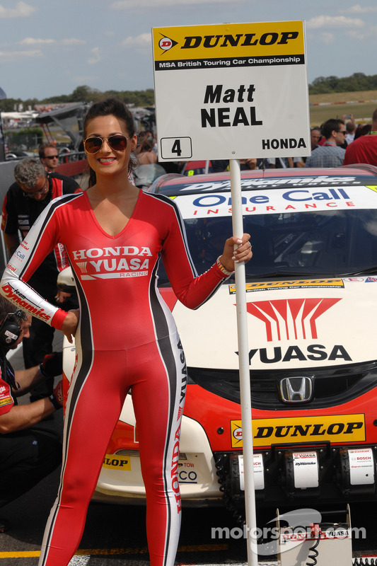 Honda Yuasa Racing ragazza