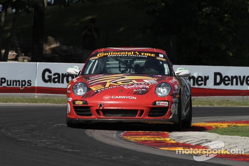 #7 Rebel Rock Racing 保时捷 997: 阿尔·卡特, 布雷特·桑德伯格