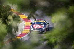 #87 Rebel Rock Racing Porsche Cayman: Jon Miller, Paul Holton