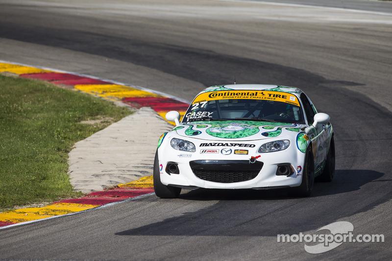 #27 Freedom Autosport 马自达 MX-5: 小布里特·凯西., 马克·怀特
