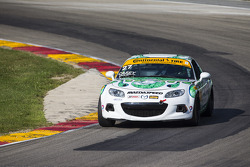 #27 Freedom Autosport Mazda MX-5: Britt Casey Jr., Mark White