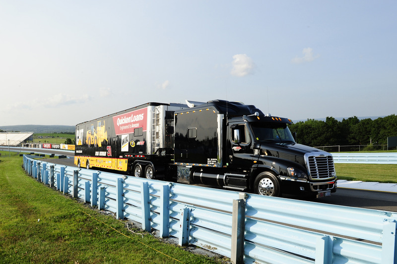 Hauler di Ryan Newman, Richard Childress Racing Chevrolet