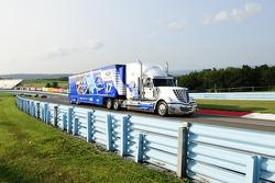 Hauler of Ricky Stenhouse Jr., Roush Fenway Racing Ford