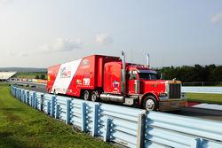 Leavine Family Racing hauler