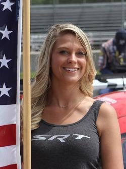 SRT flag girl