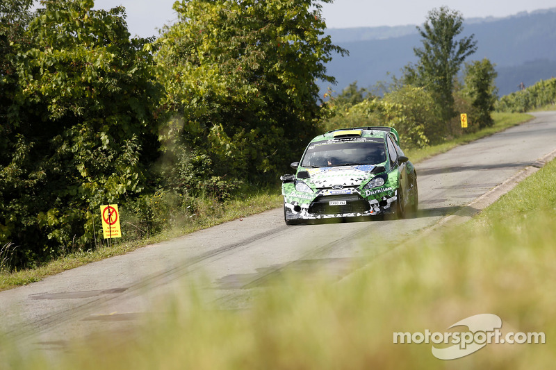 Yurii Protasov e Pavlo Cheperin, Ford Fiesta R5