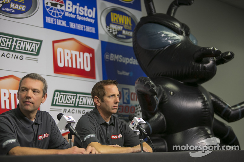 Greg Biffle, Roush Fenway Racing Ford annuncia il nuovo sponsor Ortho