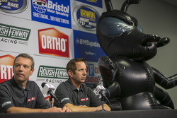 Greg Biffle, Roush Fenway Racing Ford announces new sponsor Ortho