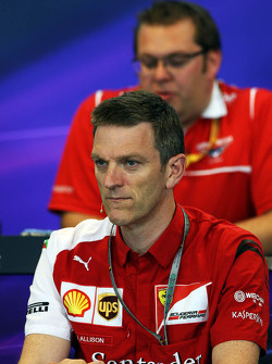 FIA-Pressekonferenz: James Allison, Technischer Direktor Chassis Ferrari