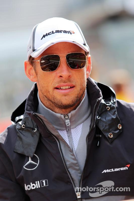 Fahrerparade: Jenson Button, McLaren