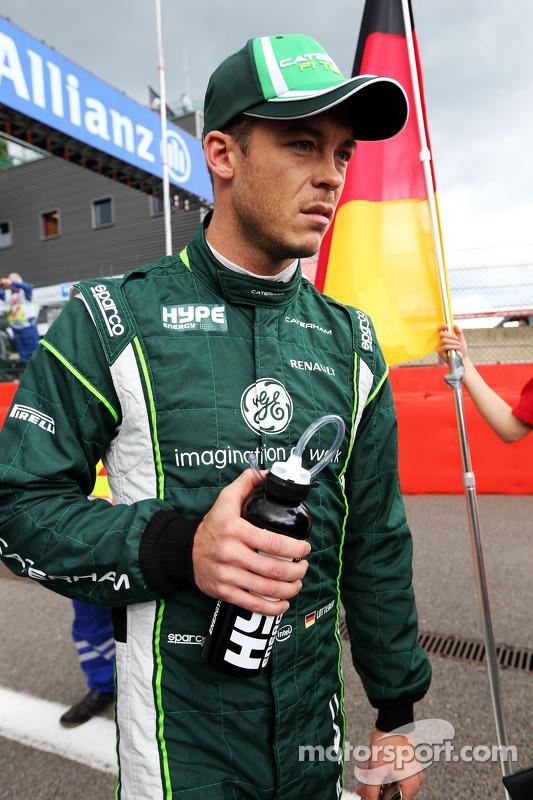 Andre Lotterer, Caterham F1 Team, no grid