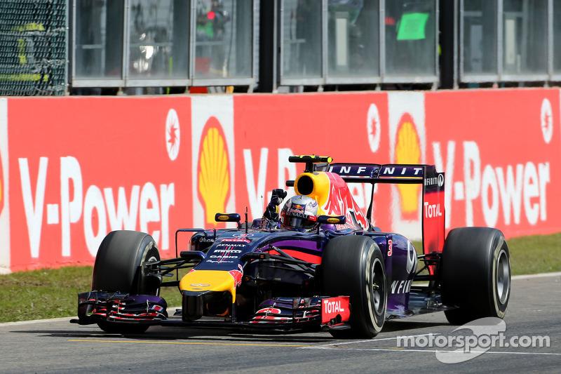 Daniel Ricciardo, Red Bull Racing galibiyete ulaşıyor