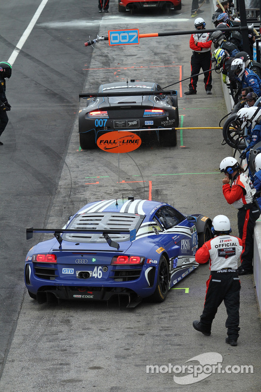 46 Fall Line Motorsports Audi R8 Lms Charles Espenlaub