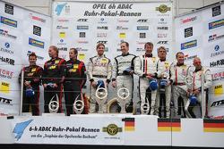 领奖台:比赛获胜者 Thomas Jäger, Jan Seyffarth, 第二名 Norbert Siedler, Uwe Alzen, Mike Stursberg, 第三名 Georg Weiss, Jochen Krumbach, Oliver Kainz, Michael Jacobs