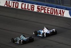 Graham Rahal, Rahal Letterman Racing Honda e James Hinchcliffe, Andretti Autosport Honda
