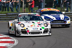 #31 Trackspeed Porsche 997 GT3 R GT3: David Ashburn, Nick Tandy
