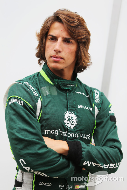Roberto Merhi, Caterham F1 Team piloto de testes