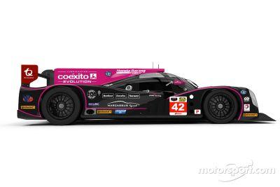 OAK车队的Ligier JS P2-HPD