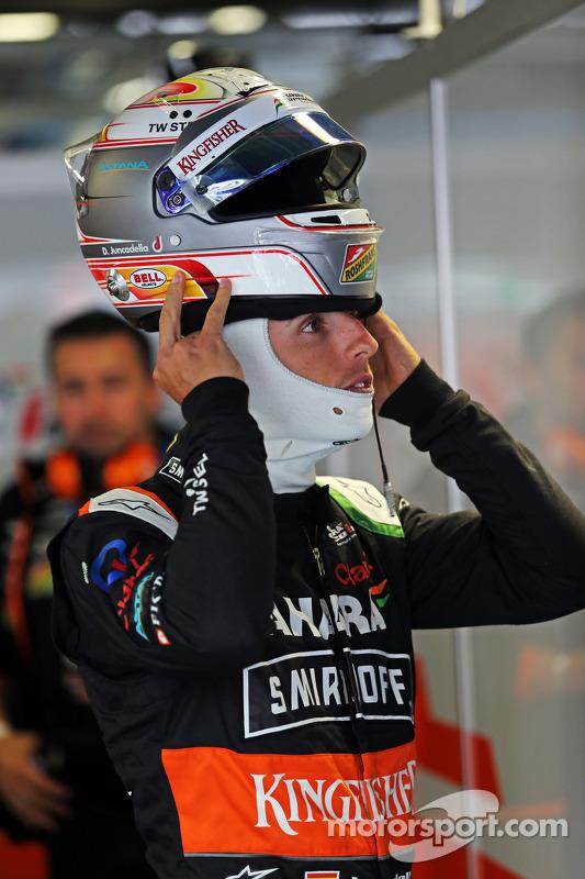 Daniel Juncadella, Sahara Force India F1 Team, Testfahrer
