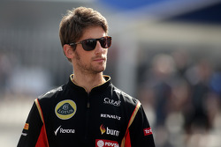 Romain Grosjean, pilota francese del Lotus F1 team