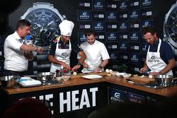 Casio Edifice Lansmanı, Red Bull Enerji İstasyonu'nda, Daniel Ricciardo, Red Bull Racing ve Christian Horner, Red Bull Racing Takım Patronu