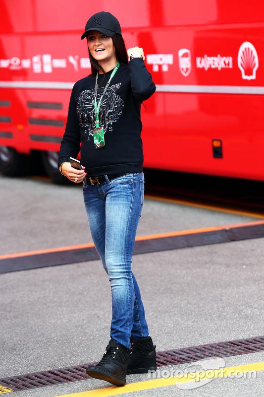 Minttu Virtanen, Freundin von Kimi Räikkönen