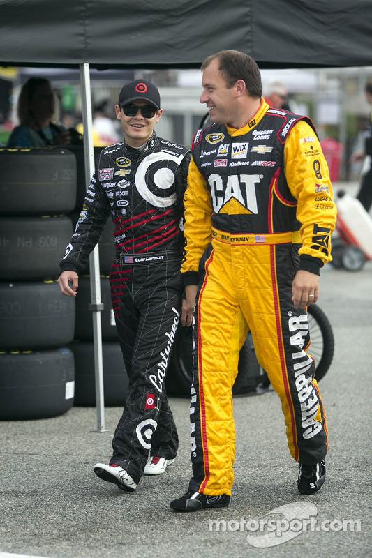 Kyle Larson e Ryan Newman