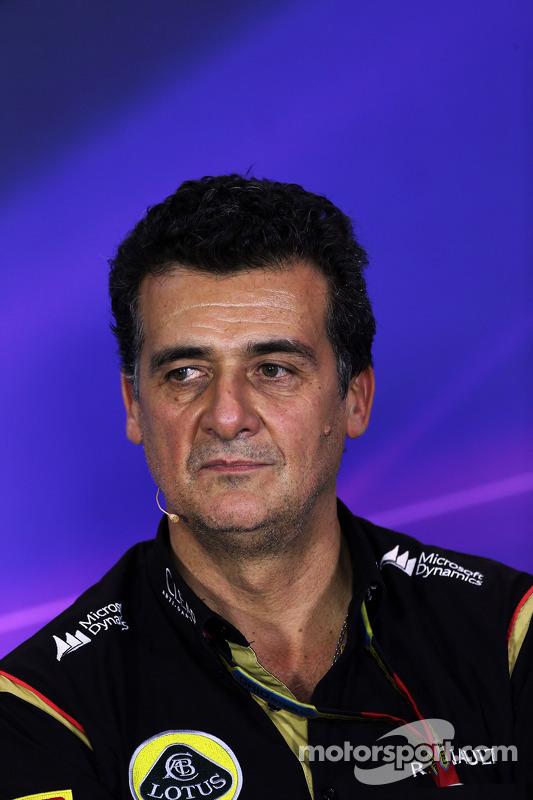 Federico Gastaldi, Lotus F1 Takımı Yardımcı Takım Patronu FIA Basın Konferansı'nda