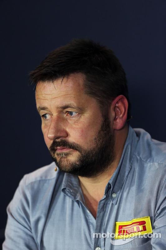 Paul Hembery, Pirelli, Motorsportchef
