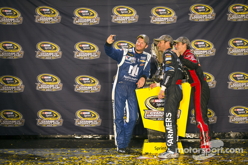 Dale Earnhardt Jr., Kasey Kahne y Jeff Gordon