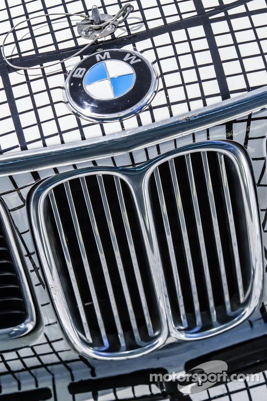Detalhe do 1976 BMW Art Car por Frank Stella