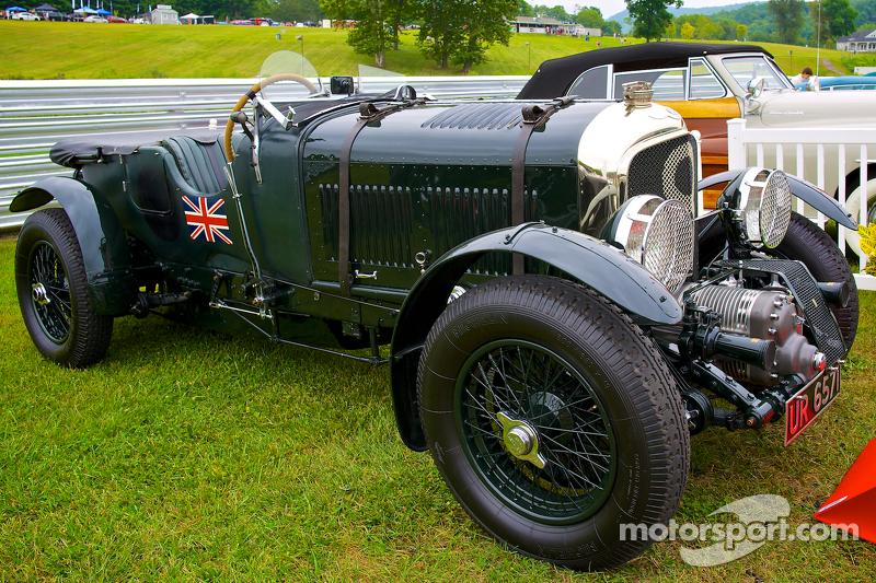 Sunday in the Park Concours con un 1929 Birkin Bentley Blower della collezione Ralph Lauren