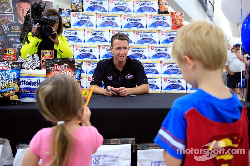 A.J. Allmendinger, JTG Daugherty Racing Chevrolet visits Kansas as part of Chase across North Americ