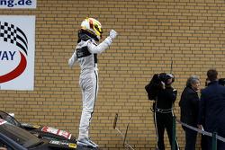 Race Winner, Pascal Wehrlein, Mercedes AMG DTM-Team HWA DTM Mercedes AMG C-Coupé