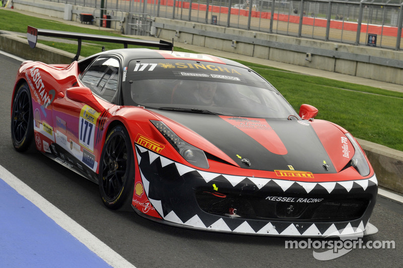 Fons Scheltema, Kessel Racing at Ferrari Racing Days: Silverstone