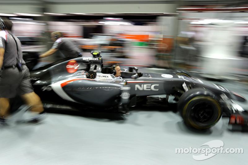 Boxenstopptraining: Sauber F1 Team