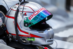 Romain Dumas capacete