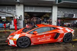 Lamborghini Aventador safety car