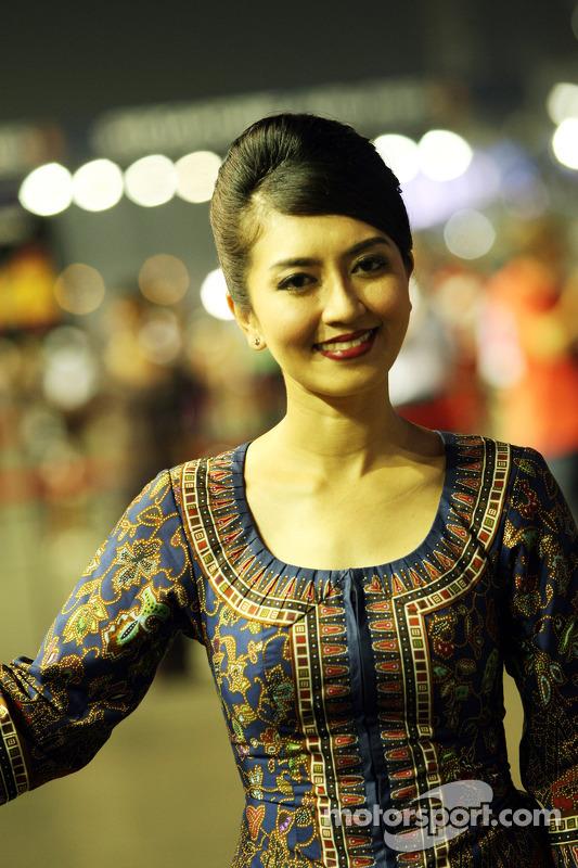 Grid girl