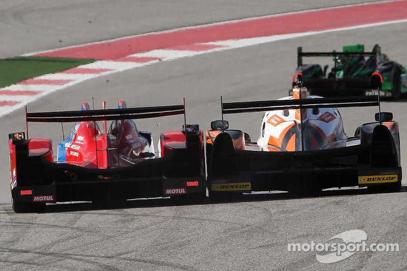 #27 SMP Racing Oreca 03 - Nissan: Serguey Zlobin, Nicolas Minassian, Maurizio Mediani and #26 G-Driv