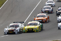 Départ : Marco Wittmann, BMW Team RMG BMW M4 DTM et Mike Rockenfeller, Audi Sport Team Phoenix Audi RS 5 DTM